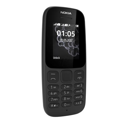 info for c8a69 05cdb Nokia 105 2017 (Dual Sim) Black