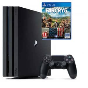 Sony Playstation 4 Pro 1TB with Game