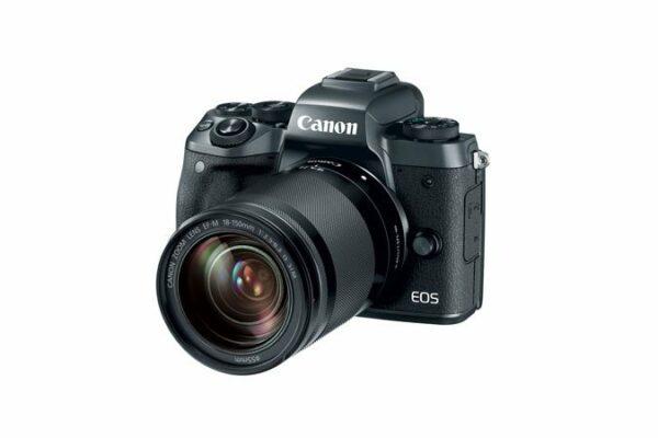 Canon EOS M5 + EF-M 18-150mm kit Mirrorless