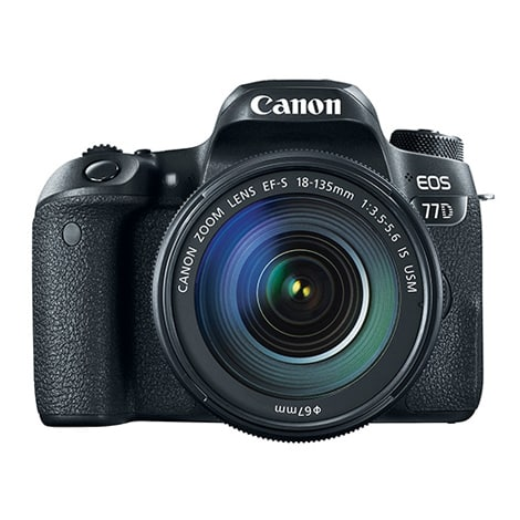 EOS 77D + 18-135 IS USM