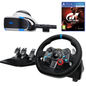 Gran Turismo 7 + Logitech G29 Playstation Racing Wheel Sony Playstation VR & Camera