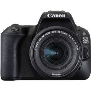 Canon EOS 200D + 18-55 IS Black