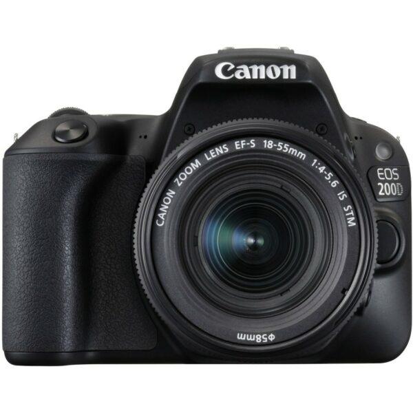 Canon EOS 200D + 18-55 IS Black