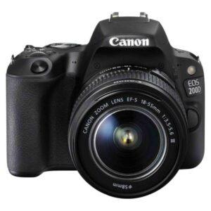 Canon EOS 200D + 18-55 DC black