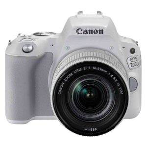 Canon EOS 200D + 18-55 IS white