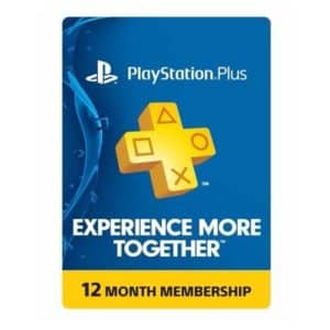 PlayStation Plus 1 Year Membership