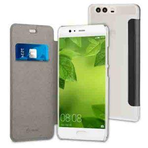 Muvit Black Folio Case For Huawei P10 Plus