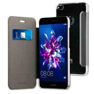 Muvit Black Folio Case For Huawei P8 Lite 2017