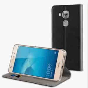 Muvit Black Folio Stand For Huawei Nova Plus