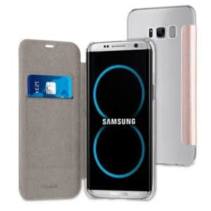 Muvit Pinkgold Folio Case Case For Samsung Galaxy S8 Plus