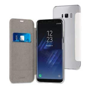 Muvit White Folio Case Case For Samsung Galaxy S8