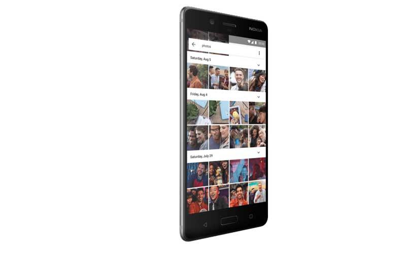 Nokia 8 google