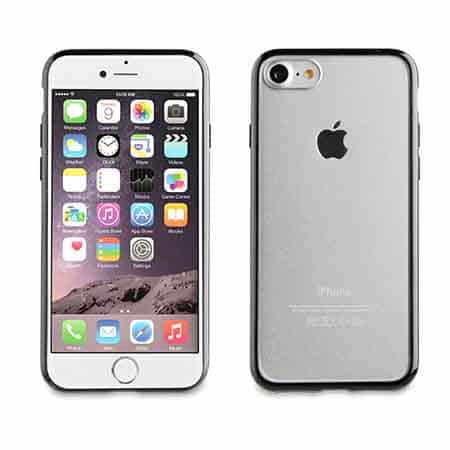 Muvit Black Crystal Bump Case For Apple iPhone 7