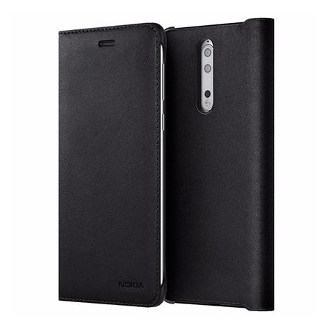 CP-801 Slim folio case black Nokia 8