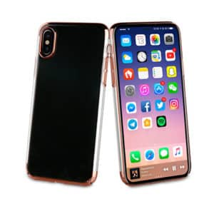 Muvit Edition Crystal Case Gold For Apple Iphone X