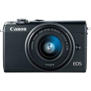 Canon M100 + 15-45mm Black