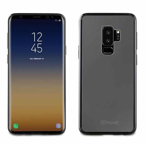 Muvit Black Crystal Bump For Samsung Galaxy S9+