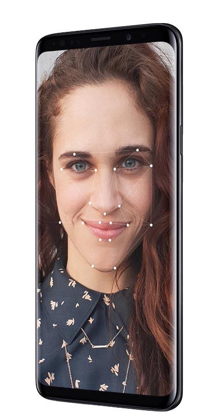 Samsung Galaxy S9+ Unlock with a look
