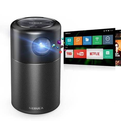 Anker Nebula Capsule Wireless Projector - Intercomp Malta