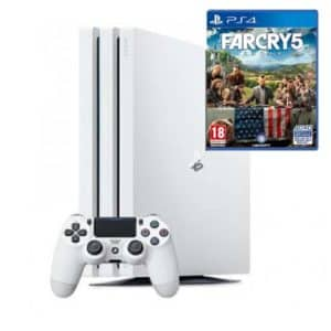 Sony Playstation 4 Pro 1TB White with Game