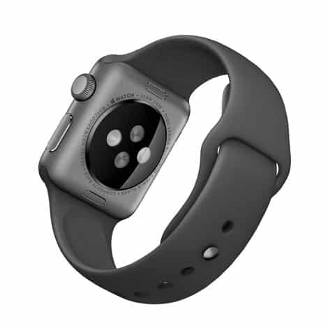 size 40 03ca2 4caf9 Apple Watch Series 3 38mm Space Grey Aluminium Case with Grey Sport Band