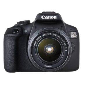 Canon EOS 2000 + 18-55mm