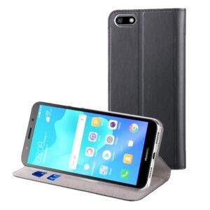 Muvit Black Folio Stand Huawei Y5 2018