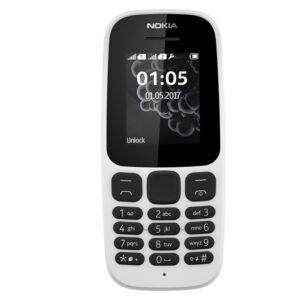 Nokia 105 2017 (Dual Sim) White