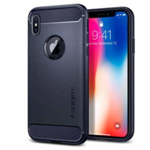 Spigen iPhone X Case Rugged Armor Blue