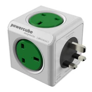 Allocacoc Powercube Green