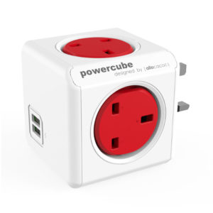 Allocacoc Powercube USB Red