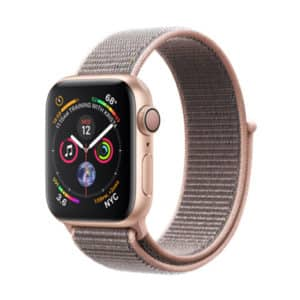 Apple Watch Series 4 40mm Gold Aluminium Case with Pink Sport Band