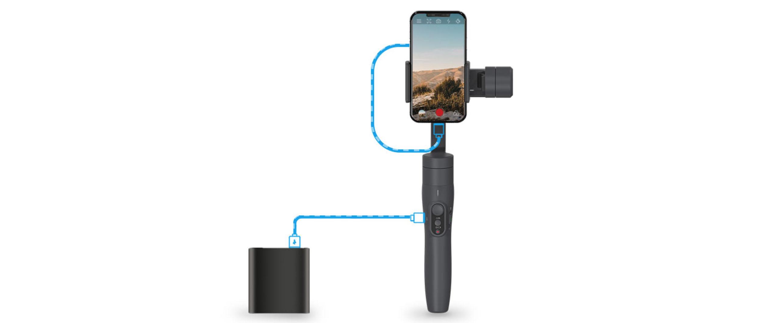 FeiyuTech Vimble 2 Gimbal Stabilizer & Pole