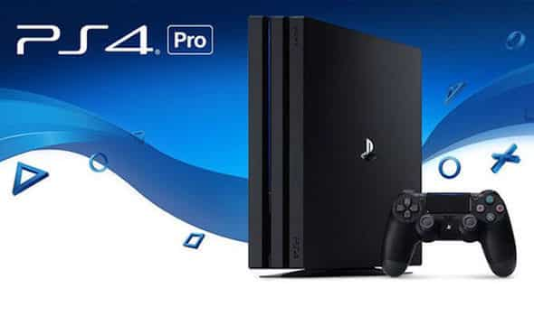 Playstation 4 Pro 4K 1TB + Game