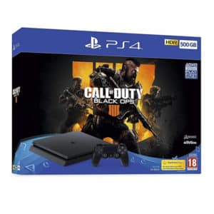 Playstation 4 500GB Slim Black Call Of Duty Bundle