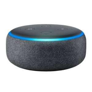 Echo Dot 3rd Generation Charcoal Black