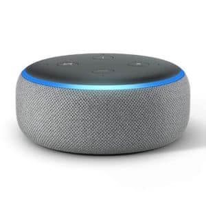 Echo Dot 3rd Generation Heather Grey