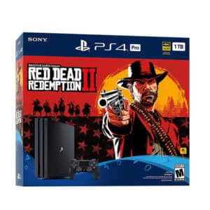Ps4 Pro 4K 1TB Red Dead Redemption Bundle