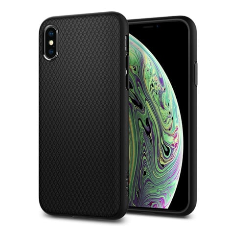 Spigen iPhone XS Case Liquid Air Black