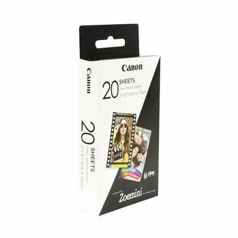 Canon ZINK paper (20 sheets)