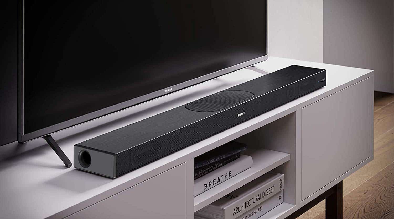 Sharp HT-SBW420(BK) 220W WI-FI 2.1 All In One Slim Soundbar