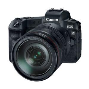 Canon EOSR Body + RF 24-105mm L + Adapter
