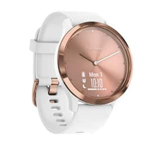 Garmin Vivomove HR Rose Gold & White Strap