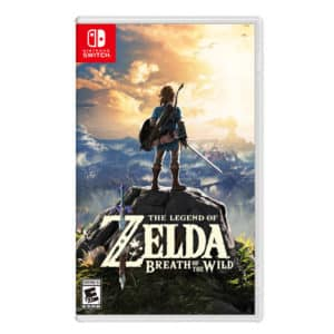 Nintendo Game The Legend Of Zelda Breath Of The Wild