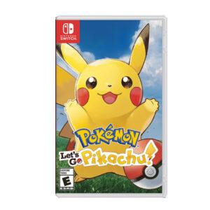 Nintendo Pokemon Lets Go Pikachu