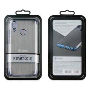 MUVIT Clear Crystal Case Huawei P Smart 2019