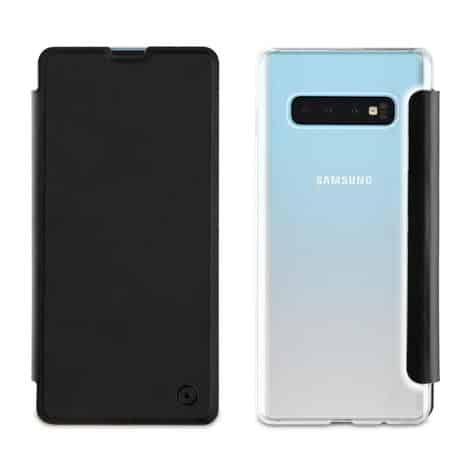 MUVIT Folio Case Black Samsung Galaxy S10