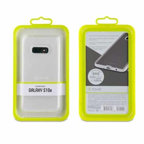 MUVIT Transparent Soft Case Samsung Galaxy S10e