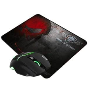 SOG Elite M10 Gaming Mouse + Mouse Pad