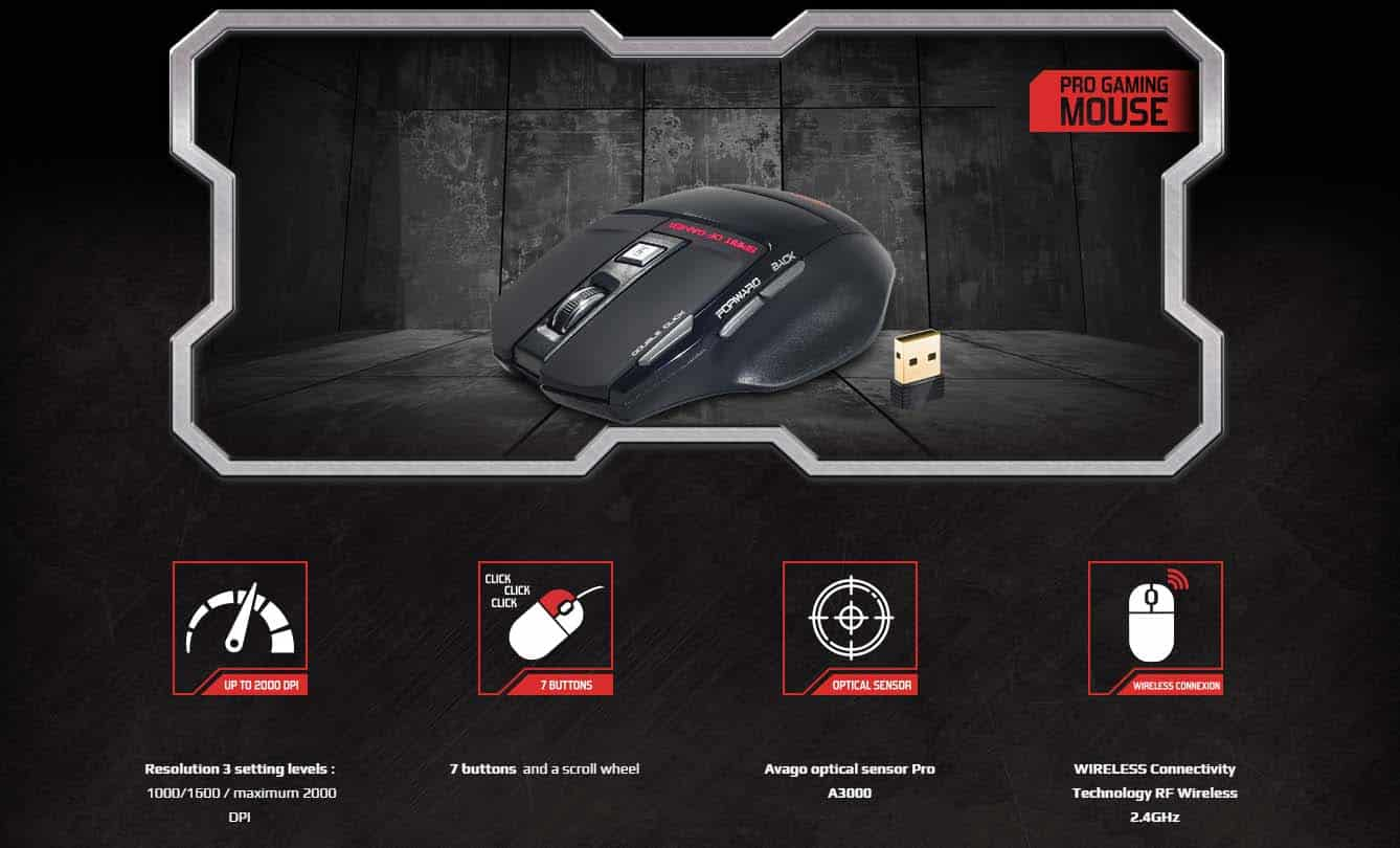 SOG PRO-M9 Gaming Mouse